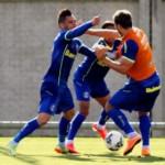 Jogadores do Grêmio trocam socos em treino para enfrentar o Vitória