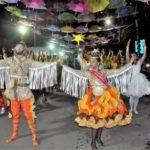 Quadrilha junina de Coité participa de terça de carnaval em Salvador