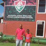 Garoto do CFC de Laje e Mutuípe já está instalado no Fluminense do Rio de Janeiro