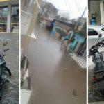 Chuva deixa ruas alagadas em Santo Antônio de Jesus