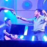 Vídeo mostra Bruno, da dupla com Marrone, bêbado em show; veja