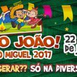 Prefeitura de São Miguel das Matas divulga atrações do São João 2017