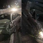 Em Salvador Homem fura blitz e capota veículo na Avenida Tancredo Neves