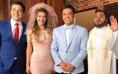 Lorena Improta e Rafael Cortez são noivos em novo clipe de Safadão