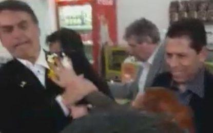 Bolsonaro toma ovada em São Paulo