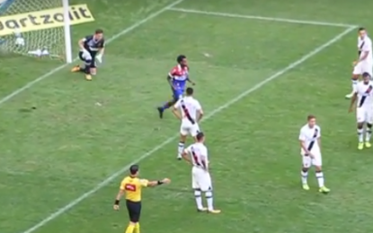 Veja os gols de Bahia 3 X 0 Vasco