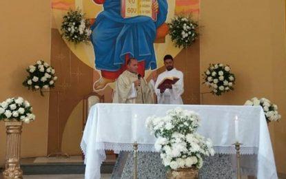 Mutuípe: Padre Fábio Andrade preside primeira missa do ano