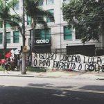 Prédio da Globo é ocupado no Rio de Janeiro