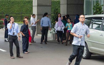 Tremor de magnitude 6,4 atinge capital da Indonésia