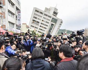 Taiwan: Terremoto deixa 5 mortos, 254 feridos e mais de 80 desaparecidos